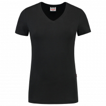 TriCorp 101008 T-Shirt V Hals Slim Fit Dames 160 g/m
