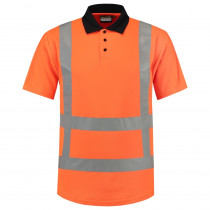 TriCorp 203001 Werkpolo Korte Mouw 180 g/m² High Visibility RWS