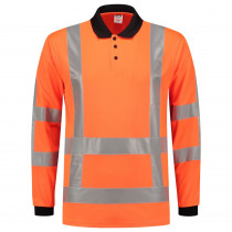 TriCorp 203005 Werkpolo Lange Mouw 180 g/m² High Visibility RWS