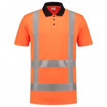 TriCorp 203006 Werkpolo Korte Mouw 180 g/m² High Visibility RWS
