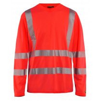 Blåkläder 3385 T-shirt Lange Mouw Level 2 130 g/m² High Visibility
