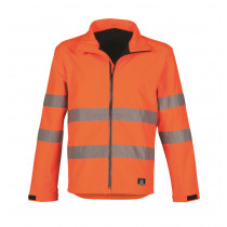 HAVEP 40057 Softshell Werkjas 320 g/m² High Visibility