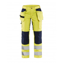 Blåkläder 7163 Dames Werkbroek Stretch 240 g/m² High Vis
